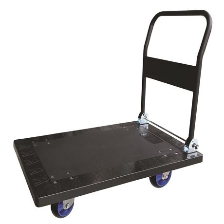 CP50PU - Chariot plastique avec dossier rabattable 500 kg