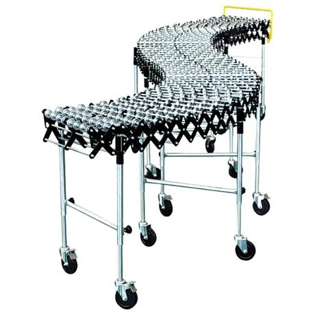 Steel skate wheel conveyor 70 kg per LM