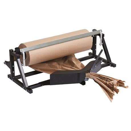 DPF1000 - Dérouleur / coupeur / froisseur rouleau papier vertical longueur maxi rouleau 2000 mm