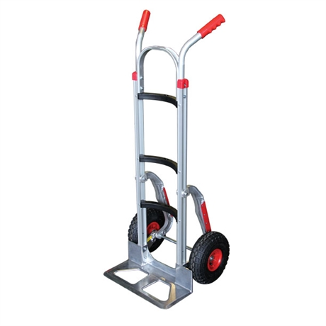 Aluminium sack truck with curved cross braces 250kg