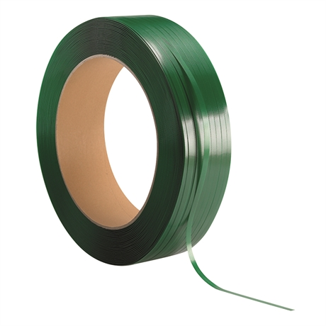 PET19.5x0.9T406 - Feuillard polyester resistance 650 kg