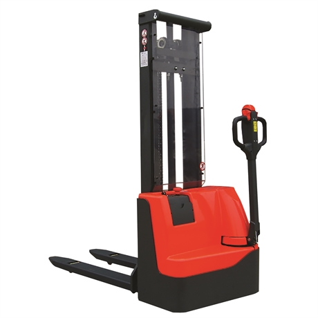 SECL1029FRLE - Gerbeur électrique 1000 kg Longerons encadrant hauteur d'élévation 2900 mm
