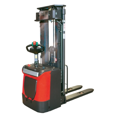 Electric stand-up rider stacker 1200 kg