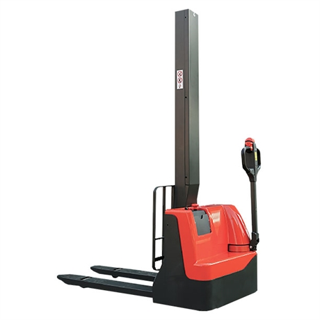 Single mast electric walkie stacker 1000 kg