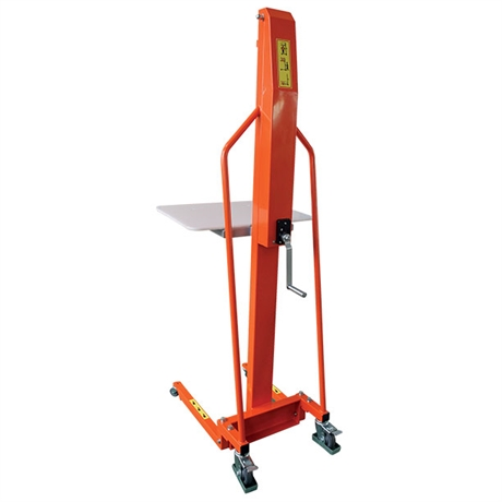 Gerbeur manuel positionneur de travail 100 et 200 kg