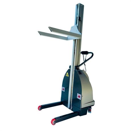 Gerbeur semi-électrique haute performance acier/inox 304, 200 kg
