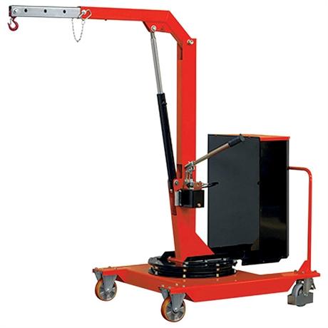 Grue d'atelier porte-à-faux rotative manuelle 500 kg