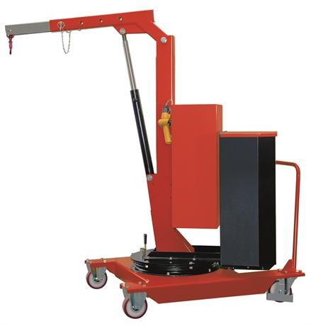 SCP05E - Grue d'atelier porte-à-faux rotative à élévation électrique 500 kg