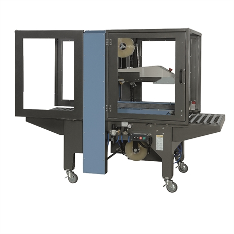 Premium multiformat side belt  case sealing machine