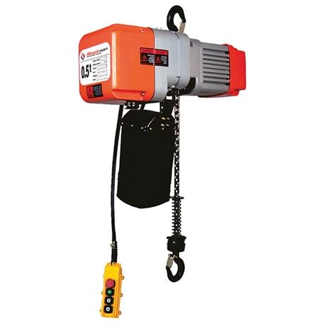 Palan électrique à chaîne 220 volts 500 et 1000 kg
