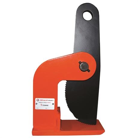 THK15 - Pince grande stabilité à prise horizontale pour tôle plate 1500 kg ouverture max 100 mm