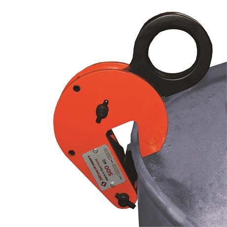TDC05 - Pince pour manutention des fûts à la verticale 500 kg