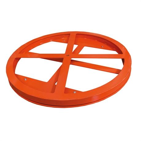 Plateau rotatif ajouré pour table élévatrice gamme HW