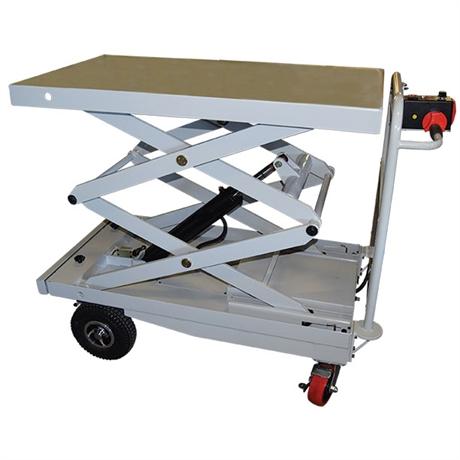Plateforme motorisée avec élévation électrique 400 kg