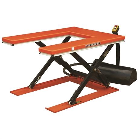 HU1000/380V - Table élévatrice électrique plateau en U 1000 kg