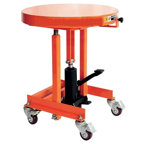 Table élévatrice à plateau tournant 200 kg