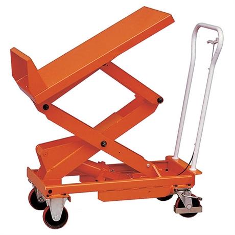Table élévatrice manuelle inclinable 400 et 800 kg