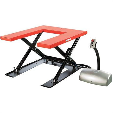 Table élévatrice électrique plateau en U économique 1000 kg