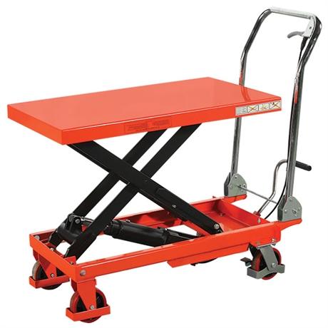 Table élévatrice manuelle économique 150 à 500 kg