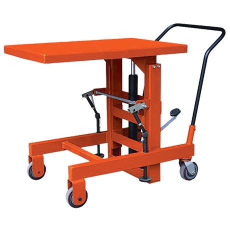 Table élévatrice manuelle encastrable 900 kg