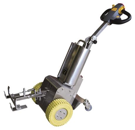 Tracteur tireur / pousseur électrique inox 1000 kg