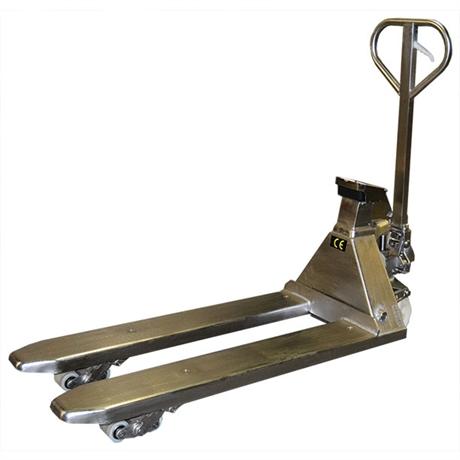 Système mobile de pesage inox 316 2000 kg