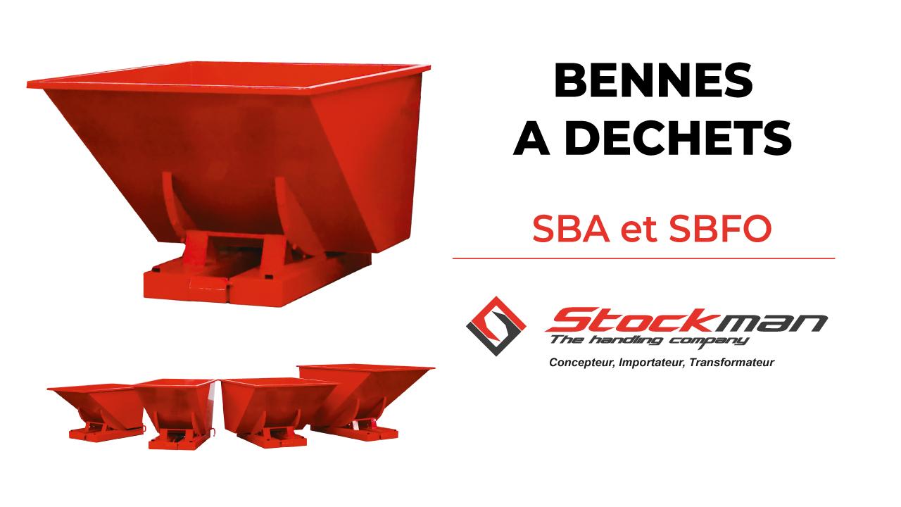 Les bennes à déchets SBA et SBFO