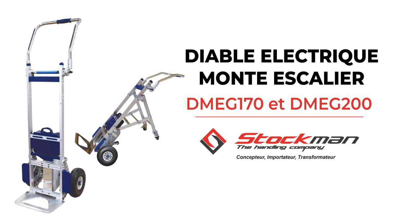 Le diable électrique monte-escalier DMEG<br>