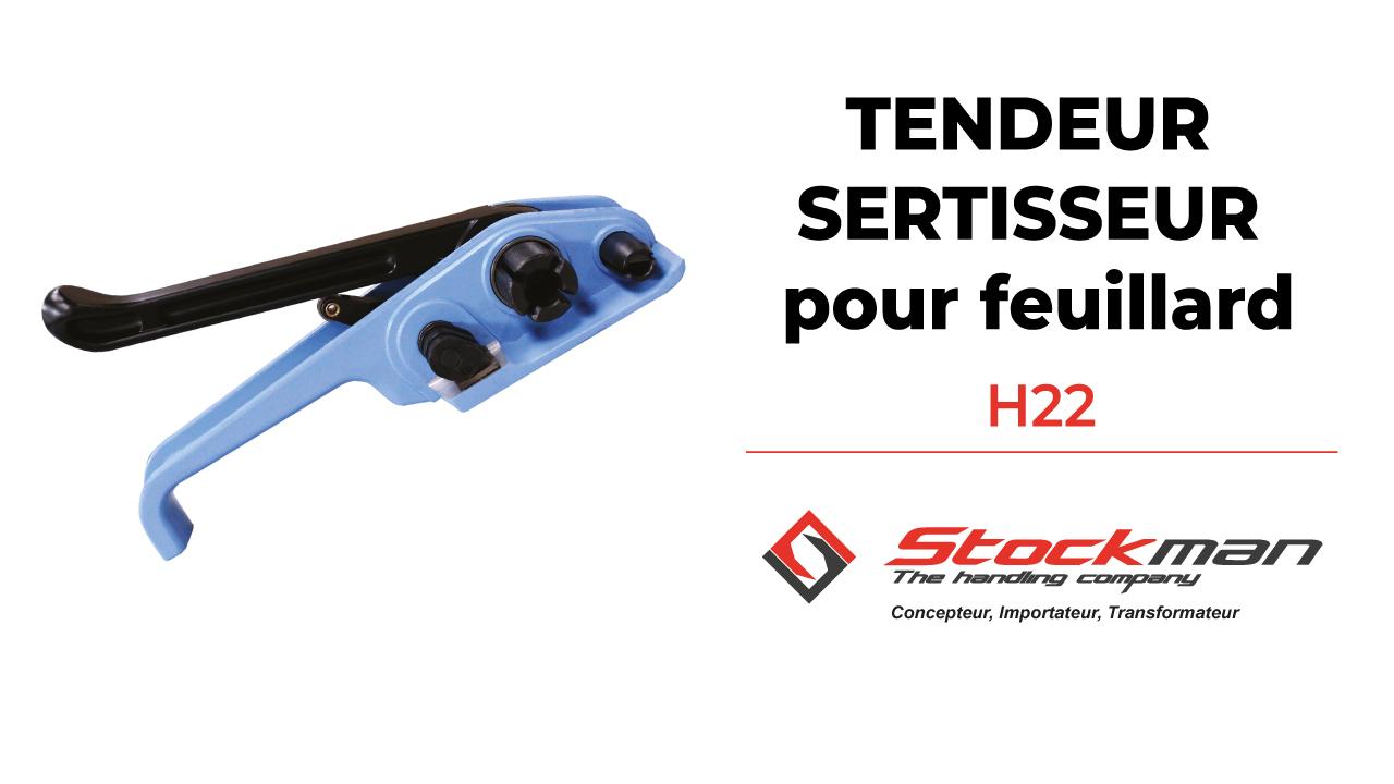Le tendeur sertisseur H22XP