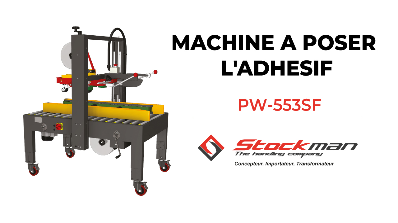 La machine à poser l'adhésif PW-553SF