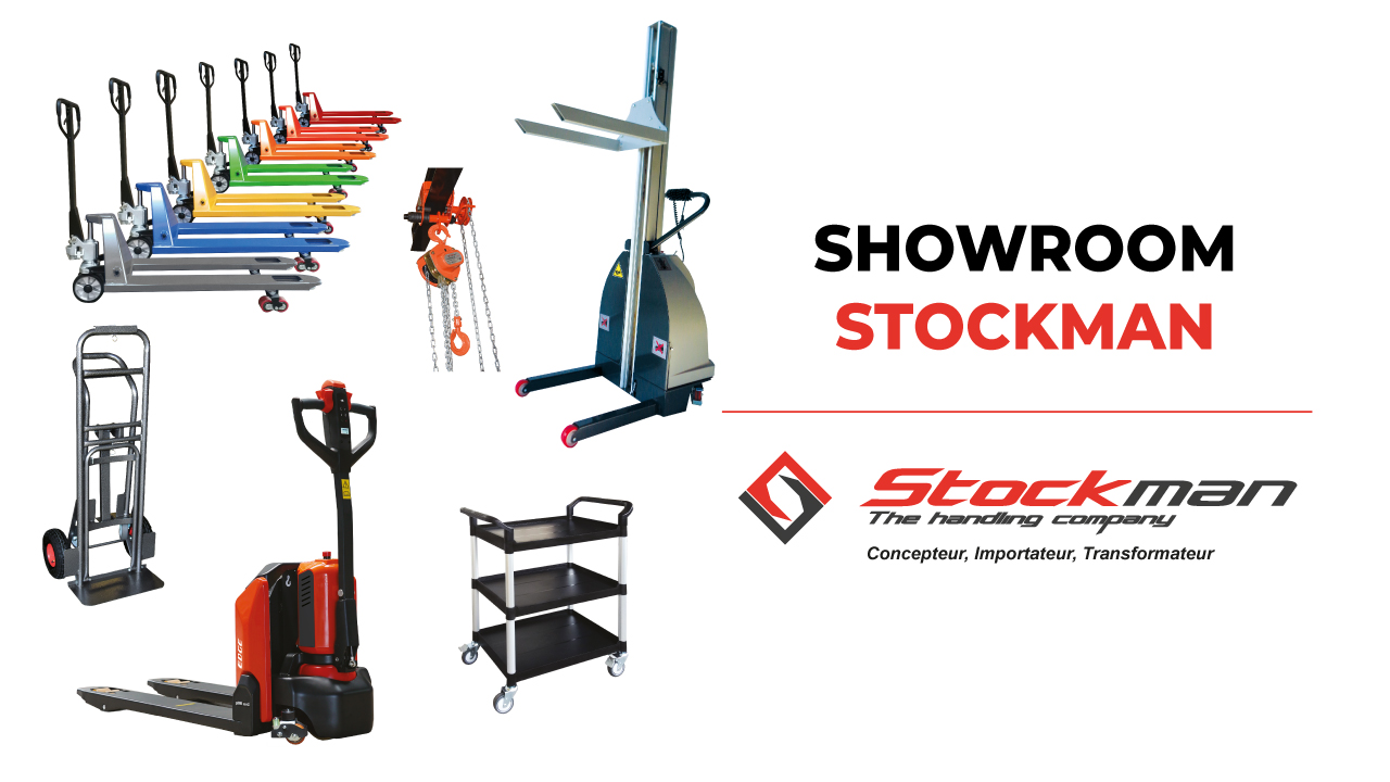 Le showroom STOCKMAN est à votre disposition !