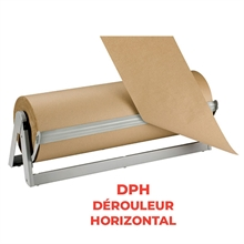 Dérouleur-coupeur-froisseur rouleau papier -
