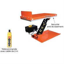 Table élévatrice électrique inclinable 750 kg -