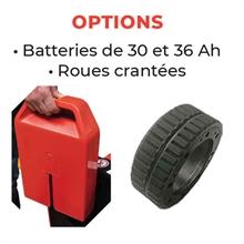 Transpalette électrique lithium 1500 kg -