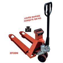 Système mobile de pesage 2000 kg -